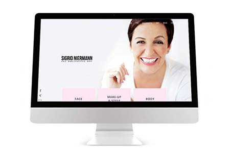Webdesign Kosmetik Beauty