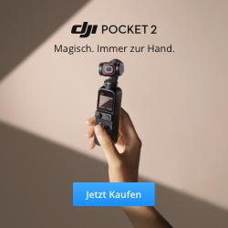 DJI Pocket 2 Magisch. Immer zur Hand.