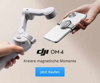 DJI OM 4 - Filme mit deinem Handy Gimbal und kreiere magische Momente