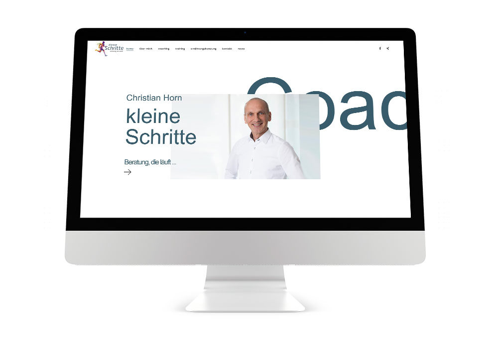 Wordpress Webseite für Berater Coach